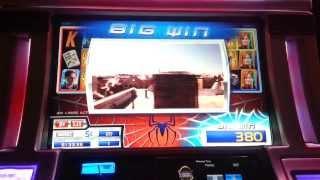 Spider-Man 5c slot random bonus win