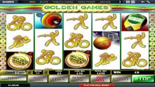 FREE Golden Games  ™ Slot Machine Game Preview By Slotozilla.com