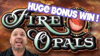 Fire Opals Great Bonus Win with Dan the Man and TracyD!!!