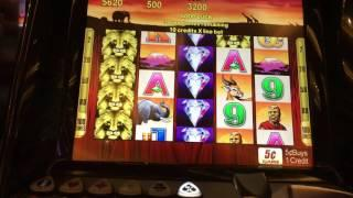 Sands Singapore 100 Lions Slot machine Bonus Round $25/pull