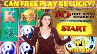 Can FREE PLAY be lucky• At Red Hawk Casino•