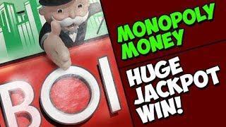 $5 Monopoly Money MAX BET HUGE JACKPOT WIN!!!!! San Manuel where dreams come true.