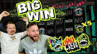 MULTIPLIER MAYHEM in Chaos Crew (Big Win)