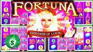 Fortuna Goddess of Luck slot machine, 2 bonuses