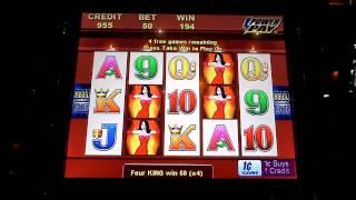 Wicked Winnings II Bonus Win on Slot Machine
