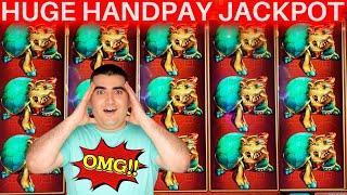 High Limit Konami Slot MASSIVE HANDPAY JACKPOT ! Las Vegas Casinos JACKPOT WINNER