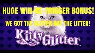 HUGE WIN! THE GLITTER NOT THE LITTER on KITTY GLITTER