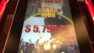 Walking dead grand jackpot handpay slot win