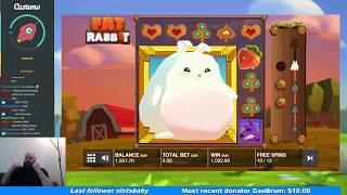 FAT RABBIT -  MONSTER FAT WIN - JACKPOT