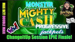 DOUBLE MAXI JACKPOT! Mighty Cash Double Up Dragon Session FINALE