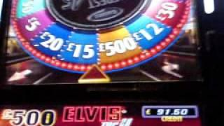 Elvis Top 20 3 Disc Feature - £500 Jackpot Barcrest B3 Fruit Machine
