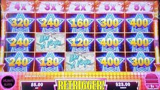 ALL MULTIPLIERS LOCKED & LOADED! LIKE A VIRGIN MADONNA MIGHTY CASH SLOT MACHINE