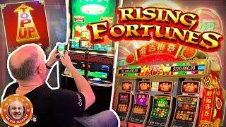•MEGA JACKPOTS INCOMING! •Rising Fortunes PAYS OUT HUGE!! •