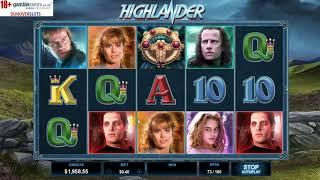 Highlander - new Microgaming slot dunover tests it out!