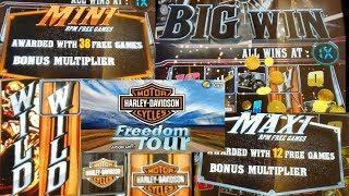 "**Harley Davidson** (BORN TO RIDE) ""IGT"" MINI & MAXI Free games"