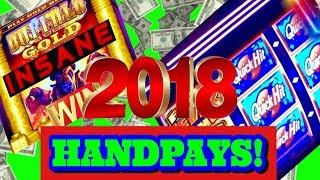 JACKPOT HANDPAYS! • OUR BIGGEST JACKPOT WINS OF 2018• FEATURING GAMBINO SLOTS!!