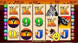 MR CASHMAN AFRICAN DUSK Video Slot Casino Game with a CASHMAN ADD CREDITS BONUS