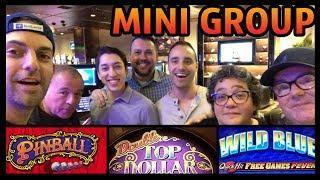 • Impromptu Group Pull • HIGH LIMIT at Cosmopolitan • Slot Machine Pokies w Brian Christopher