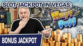⋆ Slots ⋆ Huff N' Puff JACKPOT in LAS VEGAS ⋆ Slots ⋆ $50 Spins at The Cosmopolitan on the VEGAS STR