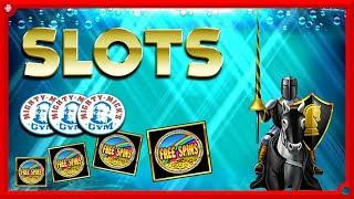 • BIG GAMBLES + LOTS OF FREE SPINS And A ROCKY SESSION !! •
