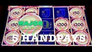DRAGON LINK •GOLDEN CENTURY (5) HANDPAYS (2) MAJOR JACKPOTS •SLOT MACHINE •MOHEGAN SUN