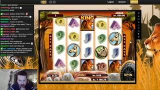 Savanna king - Endless retriggers and a decent bonus win