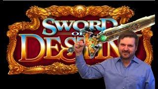 Retriggers For Days! • NEW SLOT ALERT! Sword of Destiny & Angel Blade Slot Machine