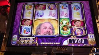 Willy Wonka Slot Machine-my Best Win On Giant Head Grandpa Bonus
