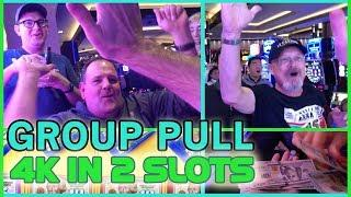 • Betting $4,000 on 2 HIGH LIMIT Slot Machines •  Fruit Machine Pokies w Brian Christopher