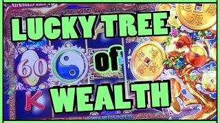 •+•LUCKY Tree of Wealth • HIGH LIMIT SLOTS • Slot Machine Pokies w Brian Christopher