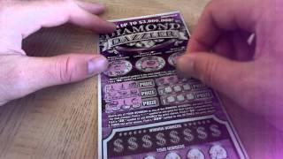 WIN $1 MILLION THIS WEEK! $3,000,000 $20 DIAMOND DAZZLER INDIANA LOTTERY  SCRATCH OFF
