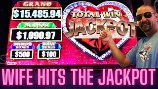 ⋆ Slots ⋆️MRS JACK⋆ Slots ⋆️ FINALLY GETS 1ST JACKPOT on LOCK IT LINK SLOT MACHINE!!!