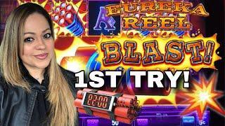 •LOCK IT LINK EUREKA REEL BLAST• FIRST TRY!•