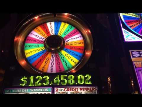 Wheel Of Fortune $50 bet high limit slots bonus spin