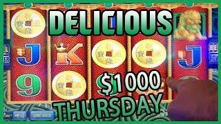•$1,000 + Pompeii  • Thousand Dollar Thursdays • Slot Machine Pokies w/ Brian Christopher