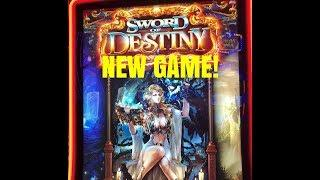 NEW GAME! SWORD OF DESTINY SLOT MACHINE-BONUS