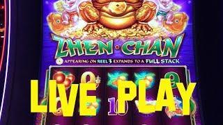 Zhen Chan Live Play Max Bet $8.88 BALLY Slot Machine