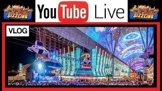 LAS VEGAS •️ DAY #3 VLOG •️ DOWNTOWN CASINOS and FUN on FREMONT STREET