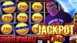 Sahara Gold Lightning Link Slot Machine HANDPAY JACKPOT  Season 9   Episode #14