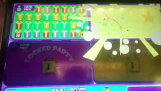 Jackpot Block Party Slot Machine Bonus - Surprise Party!