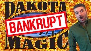 Dakota Magic Casino Files For BANKRUPTCY After We WIN TOO MUCH MONEY! Slots W/ SDGuy1234