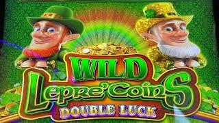 ⋆ Slots ⋆NEW WILD LEPRE' COINS !!⋆ Slots ⋆WILD LEPRE' COINS DOUBLE LUCK Slot (Aristocrat)⋆ Slots ⋆Slot Play $3.60 Bet⋆ Slots ⋆栗スロ