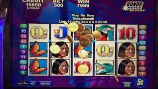 Brazil Bonus Round at $25/pull at Lodge Casino Colorado