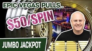 ⋆ Slots ⋆ High-Limit EPIC $50 PULLS in VEGAS ⋆ Slots ⋆ The Vault: Vegas Luck = TWO MORE JACKPOTS