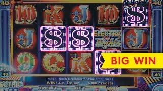 Quad Shot Progressives Slot - 100x Big Win Bonuses - Electric Nights!
