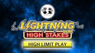 HUGE HIGH LIMIT LIGHTNING LINK WIN •️ The Slot Cats •