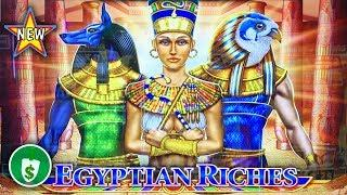 •️ New - Egyptian Riches slot machine, bonus