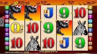 MR CASHMAN AFRICAN DUSK Video Slot Casino Game with a BOX OR BAG BONUS
