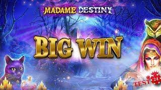 BIG WIN on Madame Destiny Slot - 5€ BONUS
