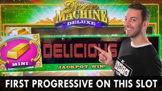 ★ Slots ★ FIRST PROGRESSIVE on Green Machine DELUXE! ★ Slots ★ Delicious Jackpot Win in Idaho ★ Slot